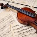 violin-musical-instrument-bow-music-sheet