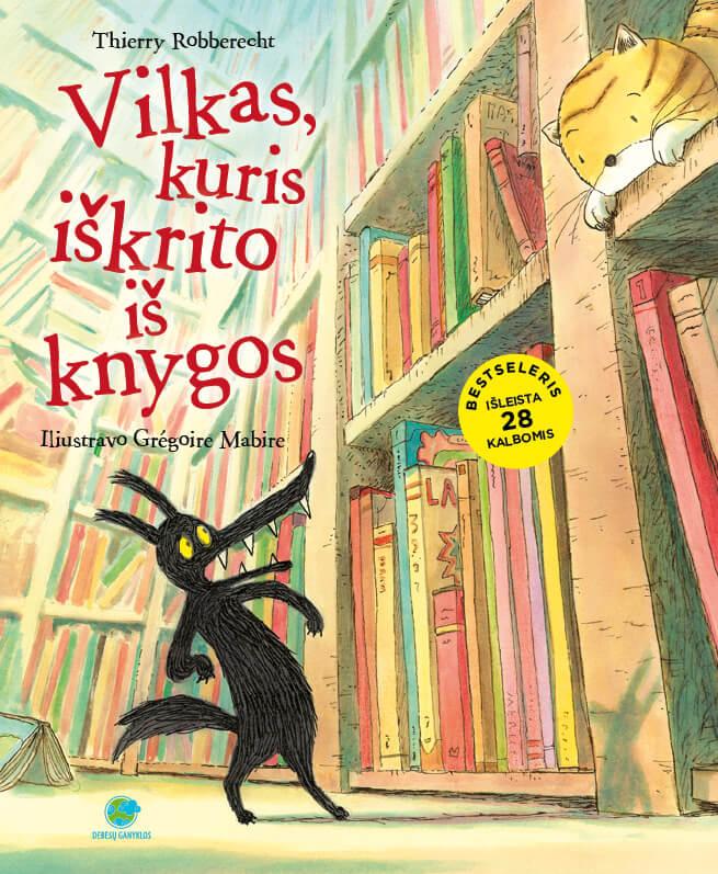 Vilkas kuris iškrito iš knygos.